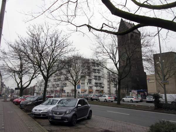 Kirchturm Jägerstraße