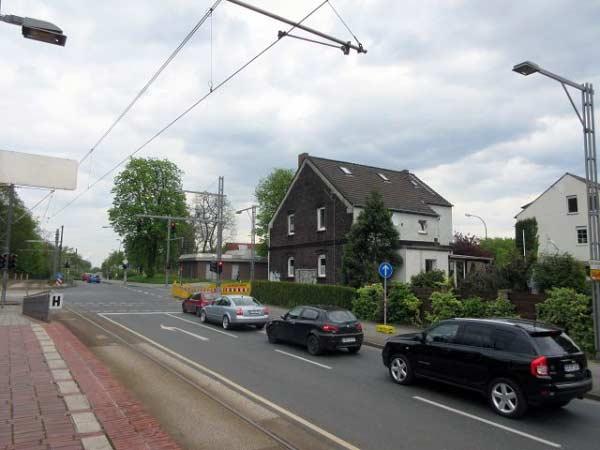 Straßenkreuzung am Grävingholz