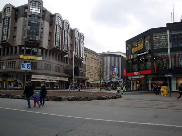 Ecke Hansastraße / Kampstraße