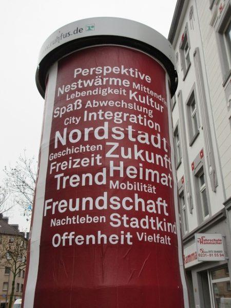 Litfaßsäule Schleswiger Straße