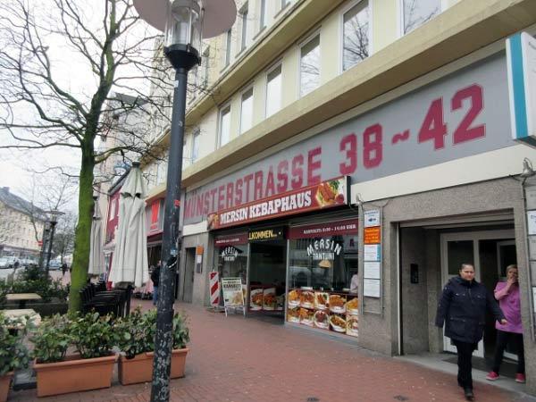 Imbiss Münsterstraße - Essmöglichkeiten