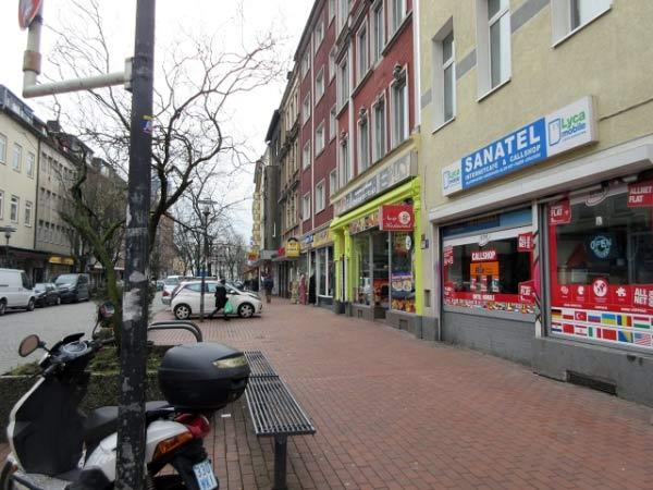 Münsterstraße - Geschäfts- und Einkaufsstraße