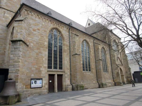 Kirchenschiff - Reinoldikirche