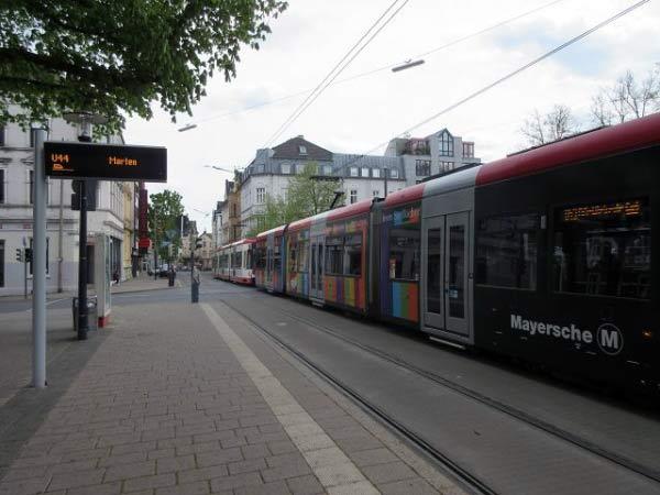 Straßenbahnen Dorstfeld