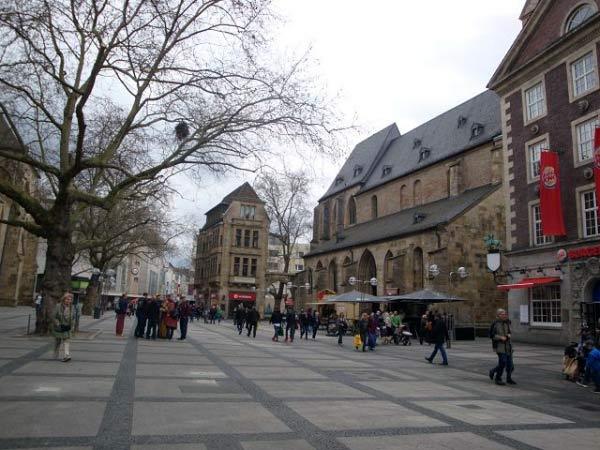 Ostenhellweg Reinoldikirche Marienkirche
