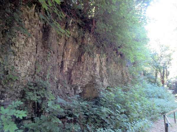 Drakenhöhlen geologischer Aufschluss