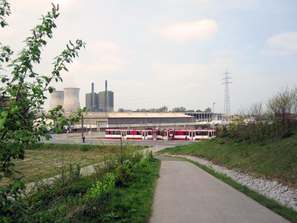 Industrieanlagen Duisburg-Angerhausen
