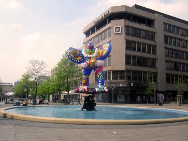 ...und wieder ein Brunnen auf der Brunnenmeile Duisburg