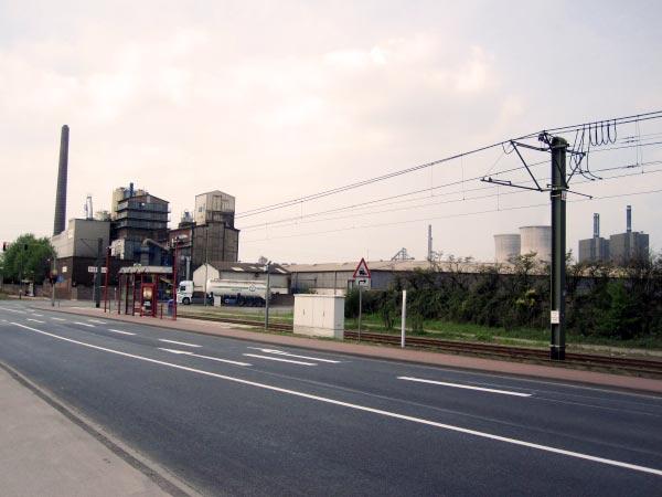 Duisburg - Haltestelle Ehinger Straße