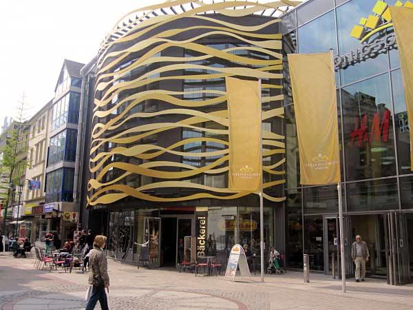 Duisburg Königsgalerie, eröffnet im Jahre 2011