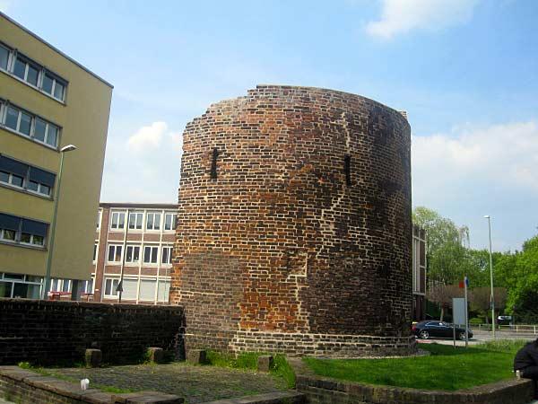 Duisburg, Stadtturm Kuhlenwall, alte Stadtbefestigung
