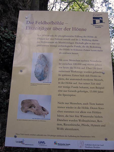Feldhofhöhle Infos