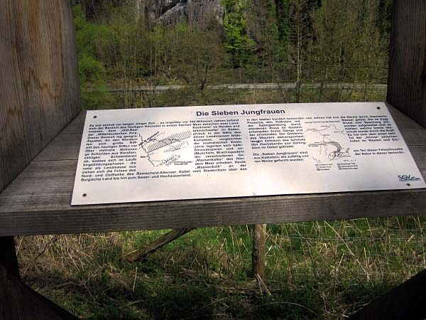 Die sieben Jungfrauen - Felsglotze