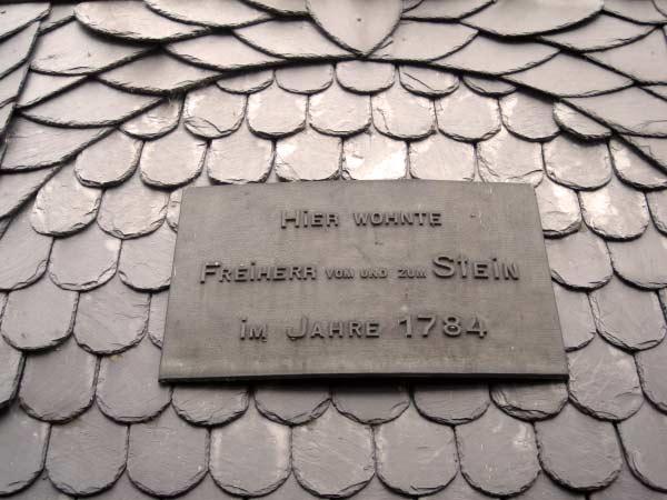 Freiherr von und zum Stein