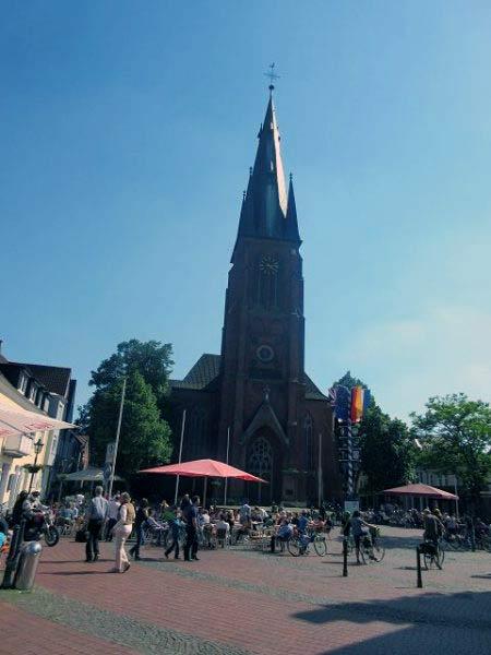 Haltern am See - Markt und Kirche