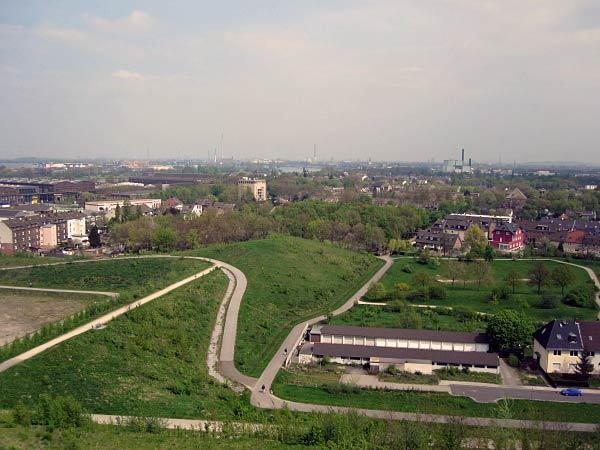 Ausblick von Heinrich-Hildebrand-Höhe zum Rhein