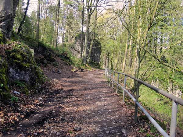 Aufstieg Feldhofhöhle