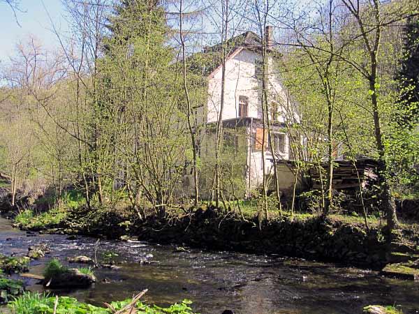 Die alte Klusensteiner Mühle, Hönnetal