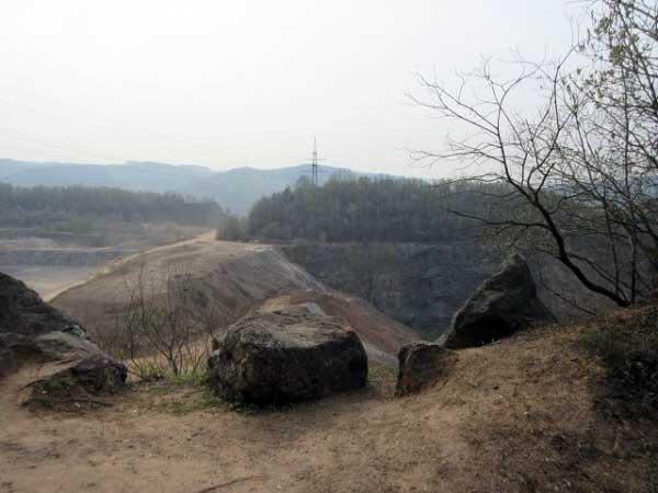 Steinbruch der Hohenlimburger Kalkwerke