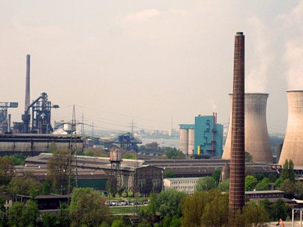Rhein, Hüttenwerk Krupp-Mannesmann