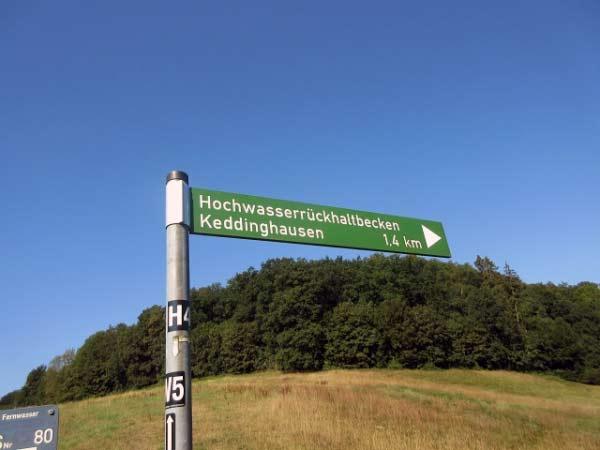 Wegweiser Keddinghäuser See