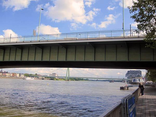 Köln Deutzer Brücke, Severinsbrücke