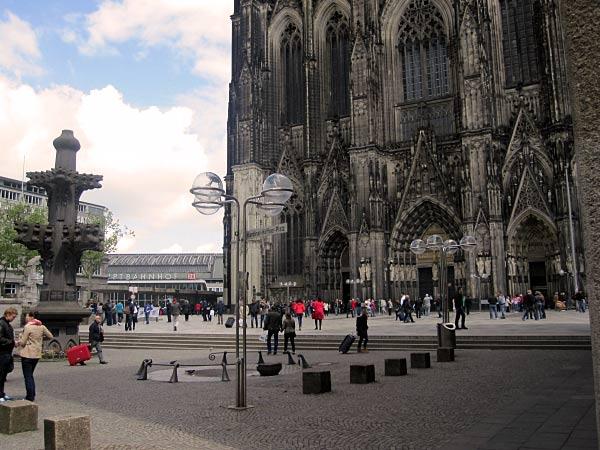 Domplatte Köln Hauptbahnhof