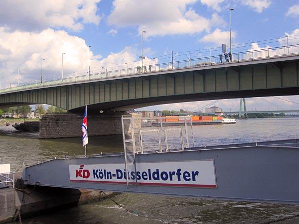 Köln-Düsseldorfer Schifffahrten auf dem Rhein sind sehr beliebt