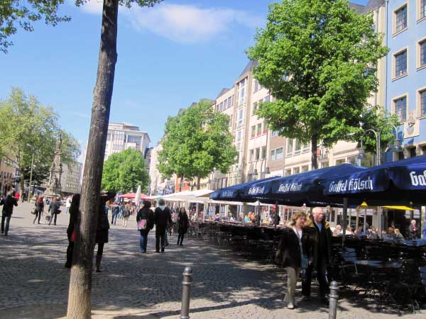 Straßengastronomie Heumarkt