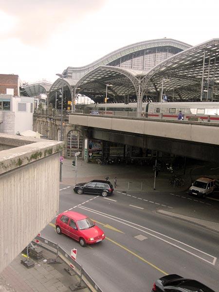 Köln Hauptbahnhof - Tunneleingang