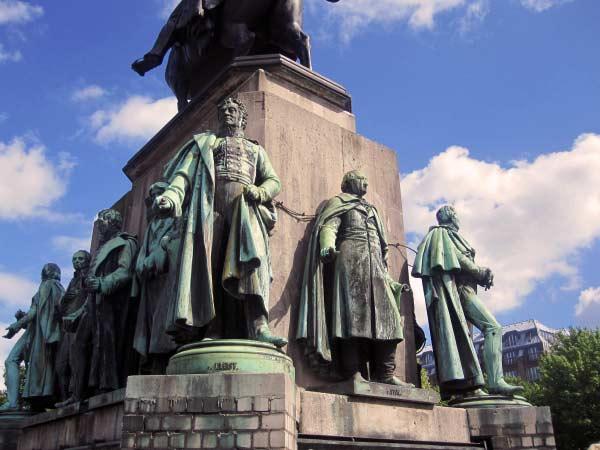 Reiterdenkmal Heumarkt