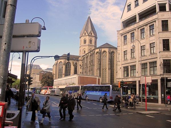 Köln Innenstadt - Kirche St. Andreas