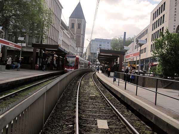 U-Bahn-Trasse am Heumarkt