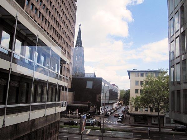 Blick aus dem WDR Köln