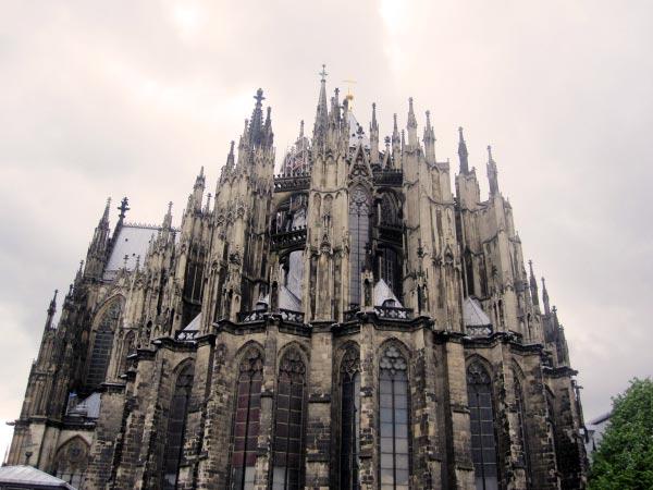 Kölner Dom - Rückseite