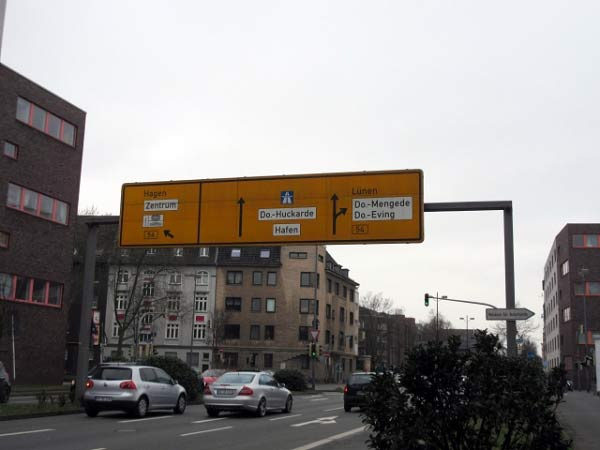 Kreuzung Mallinckrodtstraße - Münsterstraße