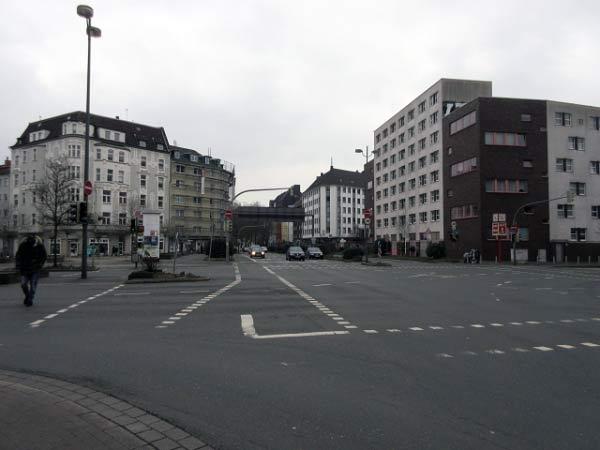 Kreuzung Mallinckrodtstraße