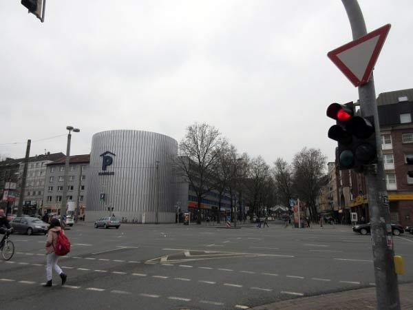 Parkhaus an Kuckelke / B54