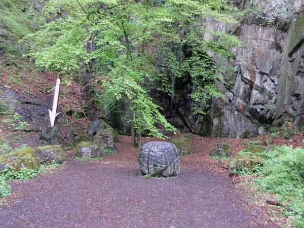 Kunstweg: Das steinerne Riesengehirn