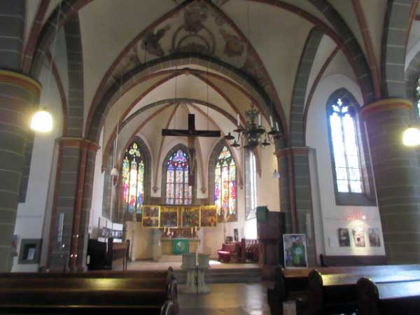 St. Georg Kirche Innen