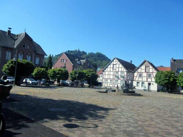 Kirchplatz Niedermarsberg