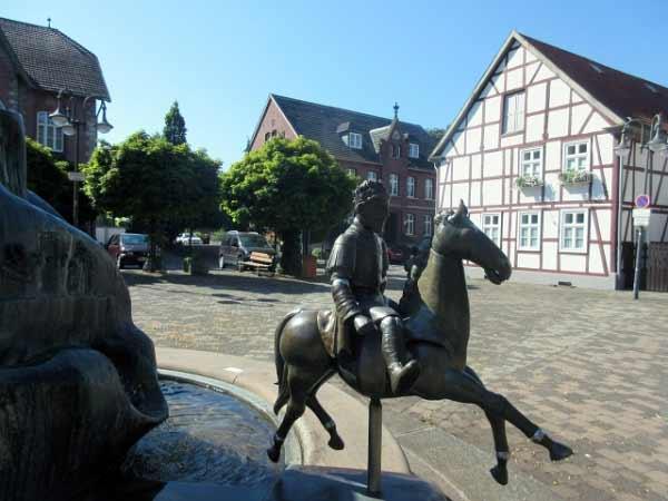Reiterstatue Marsberg