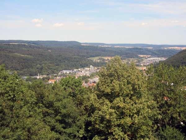 Aussicht auf Niedermarsberg (Marsberg)