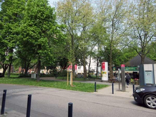 Das grüne Zentrum von Dortmund-Mengede
