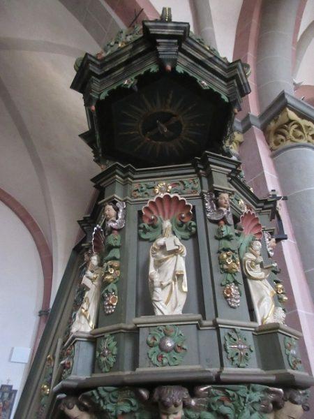 Kanzel Schnitzereien, Stiftskirche