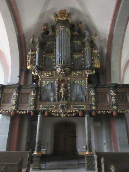 Orgel Stiftskirche Obermarsberg