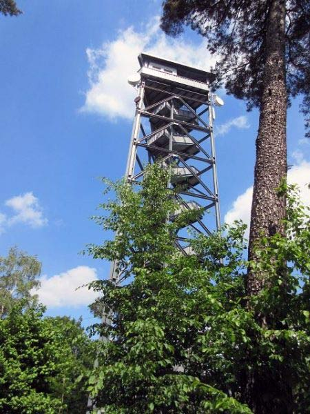 Feuerwachtturm Rennberg, Haard