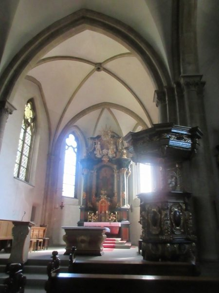 Rüthen, St. Nikolaus-Kirche - Altar