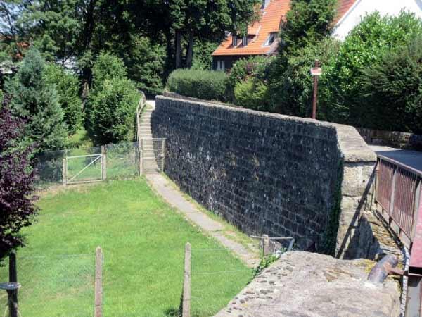 Mauerabgänge