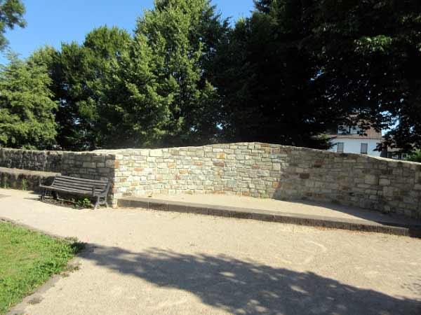 Teil der Stadtmauer in Rüthen
